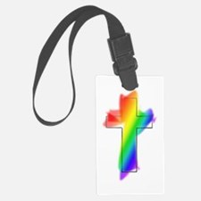 rainbow cross.png Luggage Tag