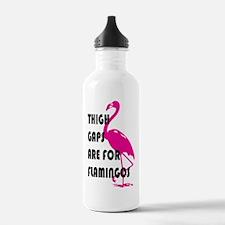 Flamingos Water Bottle