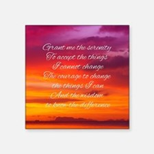 Serenity Prayer - Sunset Sticker