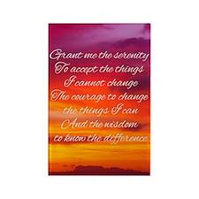 Serenity Prayer - Sunset Magnets