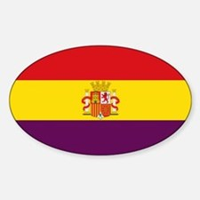 Flag of the Second Spanish Republic Decal