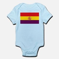 Flag of the Second Spanish Republic Body Suit