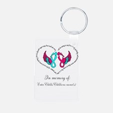 Custom Pregnancy Infant Loss Keychains