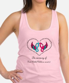 Custom Pregnancy Infant Loss Racerback Tank Top