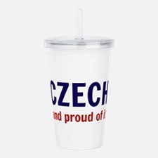 Czech Acrylic Double-wall Tumbler