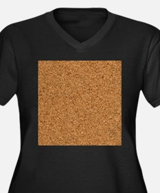 Cool Chic Cork Stanley's Fave Plus Size T-Shirt