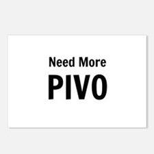 Need More Pivo Postcards (Package of 8)