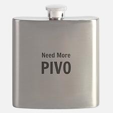 Need More Pivo Flask