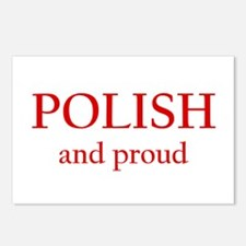 Polish and Proud Postcards (Package of 8)