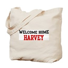 Welcome home HARVEY Tote Bag
