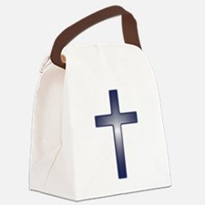 crossglowing1.png Canvas Lunch Bag