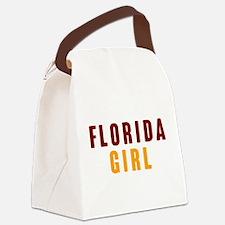 FSU Girl Canvas Lunch Bag