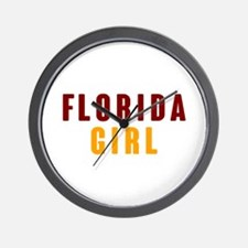 FSU Girl Wall Clock