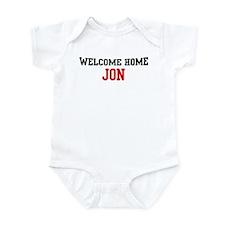 Welcome home JON Infant Bodysuit