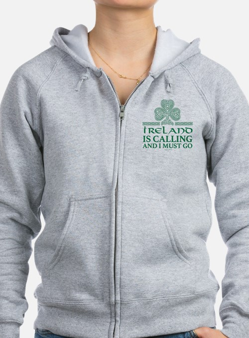 Ireland is Calling Zip Hoody