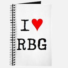 i love rbg Journal