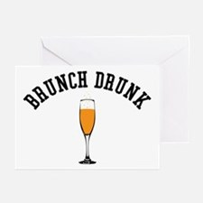 Brunch Drunk Greeting Cards