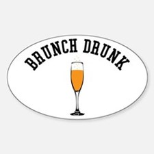 Brunch Drunk Decal