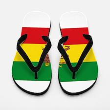 Ethiopia Flag Lion of Judah Rasta Reggae Flip Flop