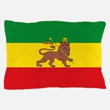 Ethiopia Flag Lion of Judah Rasta Reggae Pillow Ca