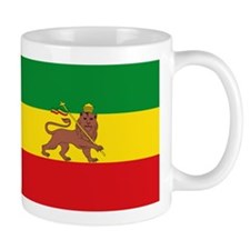 Ethiopia Flag Lion of Judah Rasta Reggae Mugs