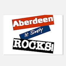 Aberdeen rocks Postcards (Package of 8)