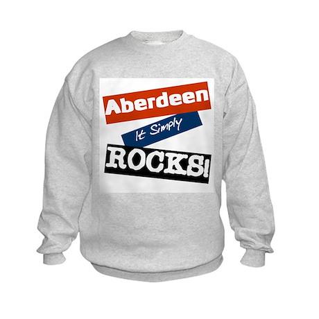 Aberdeen rocks Kids Sweatshirt