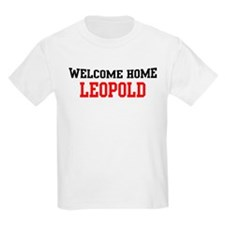 Welcome home LEOPOLD T-Shirt