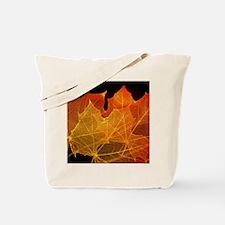 See through Leaves Tote Bag