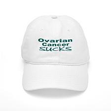 Ovarian Cancer Sucks 1.5 Baseball Cap