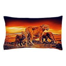 Lion Family Pillow Case
