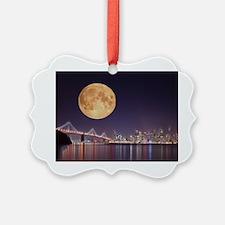 San Francisco Full Moon Ornament