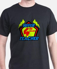 Super Fourth Grade Teacher T-Shirt