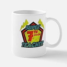 Super Seventh Grade Teacher Mug