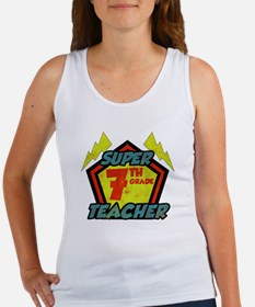 Super Seventh Grade Teacher Women's Tank Top