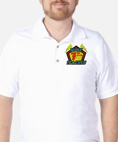 Super Seventh Grade Teacher Golf Shirt