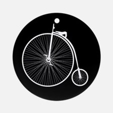 Penny Farthing Ornament (Round)