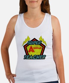 Super Assistant Teacher Women's Tank Top