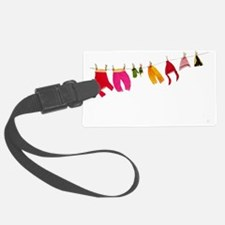 Winter clothesline craft Luggage Tag