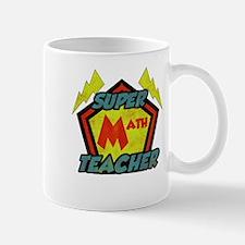 Super Math Teacher Mug