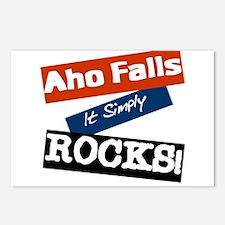Akron Rocks Postcards (Package of 8)