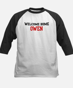 Welcome home OWEN Kids Baseball Jersey