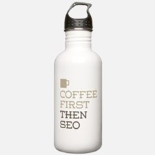 Coffee Then SEO Water Bottle