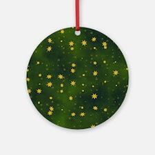 STARS Round Ornament