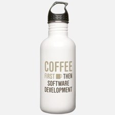 Coffee Then Software D Water Bottle