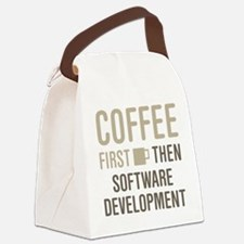 Coffee Then Software Development Canvas Lunch Bag
