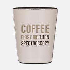 Cofee Then Spectroscopy Shot Glass