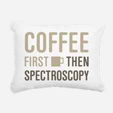 Cofee Then Spectroscopy Rectangular Canvas Pillow