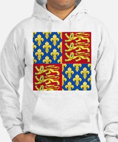 Royal Arms of England and France Hoodie