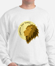 Justice for Cecil Sweatshirt